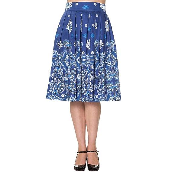 Banned Women s Full Skirt blue blue B071HG6Y1C