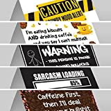 Funny Office Desk Signs Multipack