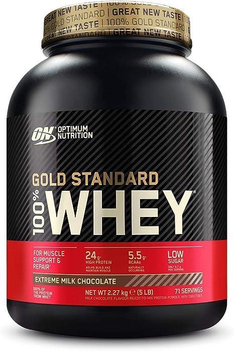 Proteine in polvere optimum nutrition gold standard 100% whey cioccolato al latte 1101492