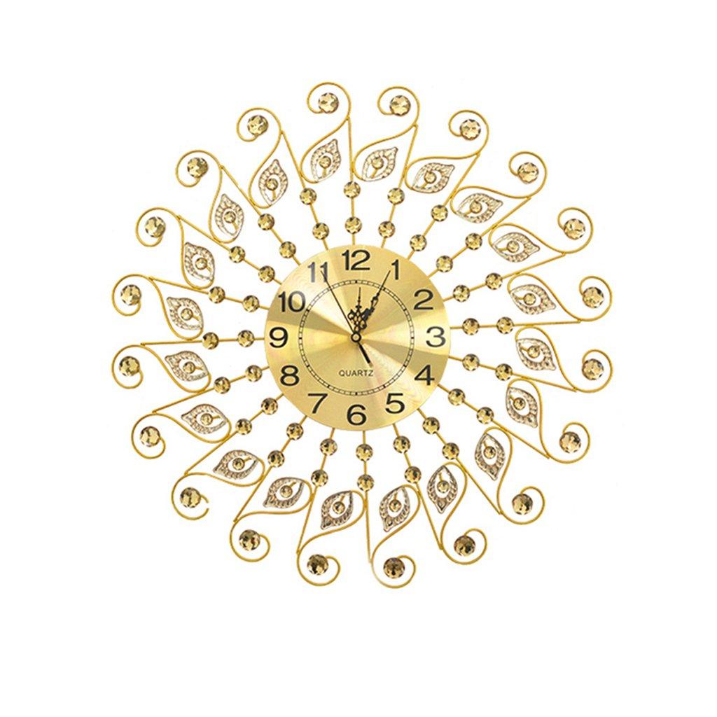 moderno semplice digitale Orologio da parete Orologio al quarzo decorazione Orologio da parete camera da letto muto Tavolo appendente mestieri