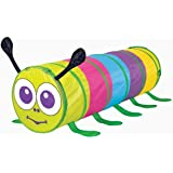 KiddyPlay Pop Up Caterpillar Play Tunnel - Childrens Crawl Tube For Indoor or Outdoor