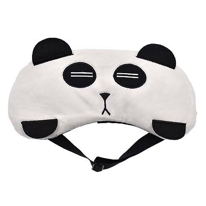 ynuth Ojo Máscara Dormir máscara gato Panda Gallina oso zorro Viaje Hogar elástico