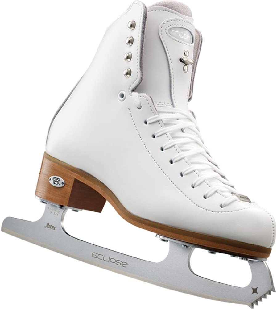 Riedell 25 Motion - ホワイト ガールズ フィギュア スケート 狭い1