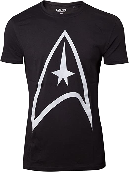 Star Trek Emblem Camiseta Negro S: Amazon.es: Ropa y accesorios