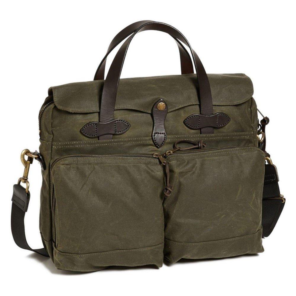 (フィルソン) FILSON メンズ バッグ ビジネスバッグブリーフケース 24 Hour Tin Cloth Briefcase [並行輸入品]   B0789CCYJS