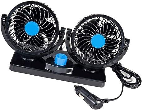 B Baosity Ventilador De 12V Ventilador De Aire De Enfriamiento ...