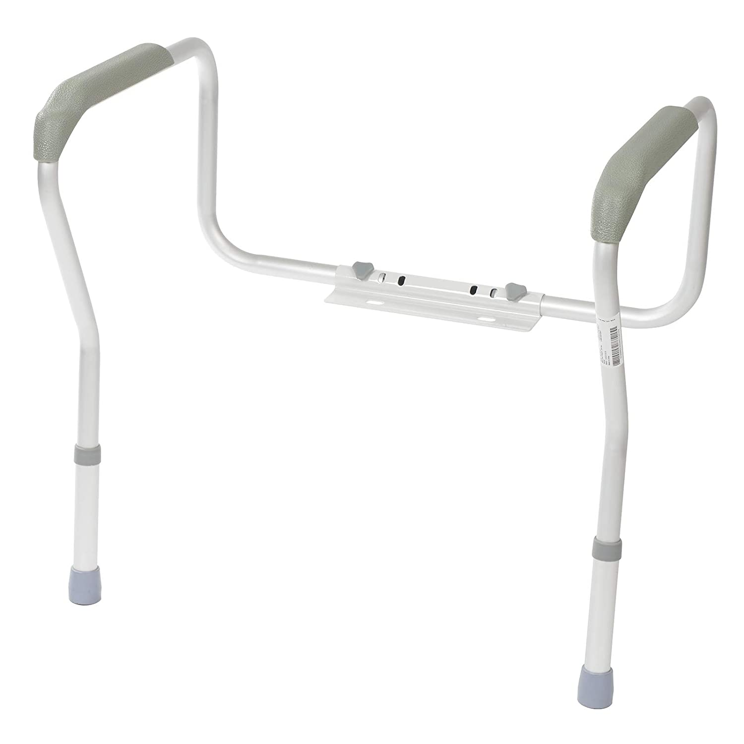 Homecraft Toilet Safety Frame, Bathroom Toilet Frame for Handicap or Disabled, Assistance Rails for Elderly, Adjustable Toilet Hand Rails for Support, Safety, and Comfort, Bathroom Grab Bar