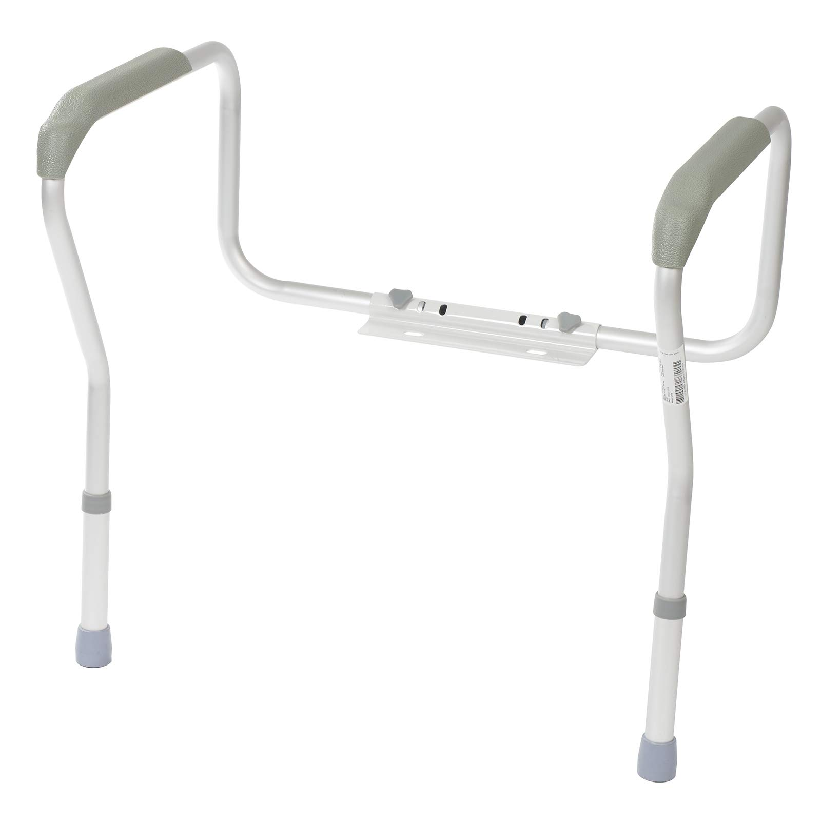 Homecraft Toilet Safety Frame, Bathroom Toilet Frame for Handicap or Disabled, Assistance Rails for Elderly, Adjustable Toilet Hand Rails for Support, Safety, and Comfort, Bathroom Grab Bar by Homecraft