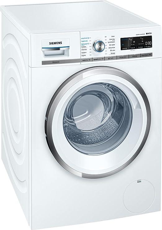 Siemens iQ700 WM14W750FF Independiente Carga frontal 9kg 1400RPM ...