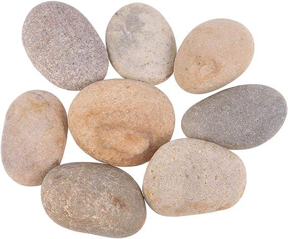 Artibetter pintura rocas creativas de dibujo de pulido DIY pintados a mano decoración guijarros piedras: Amazon.es: Hogar