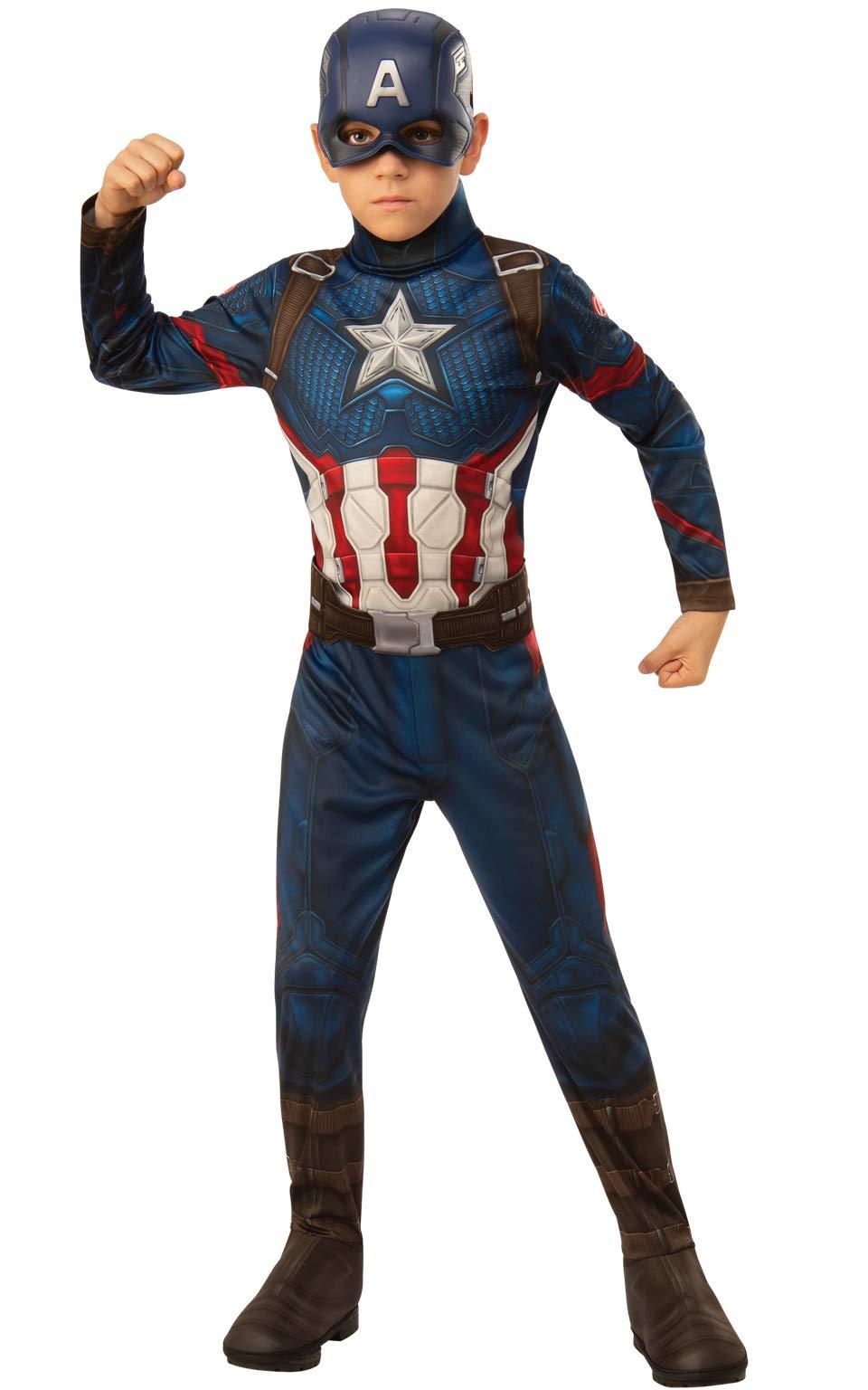 Rubie's Marvel: Avengers Endgame Child's Captain America Costume & Mask, Small