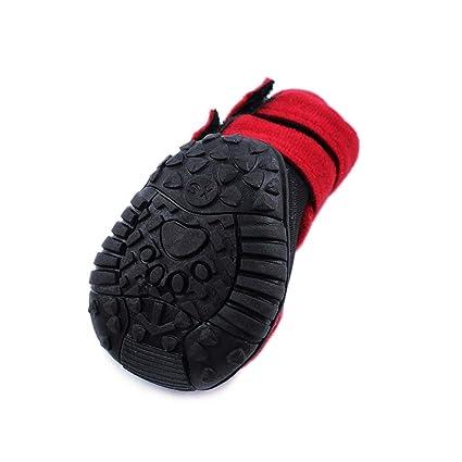 924075167af6b Amazon.com : Haoweidaoshanghang Dog Shoes, Big Dog Spring Shoes ...