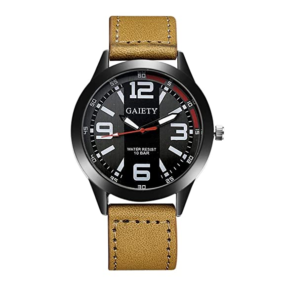 Rcool Relojes de Lujo del reloj de los hombres del diseño retro relojes del cuarzo del
