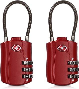 Set Of 2 Digit Combination Number Padlock Lock Luggage Suitcase