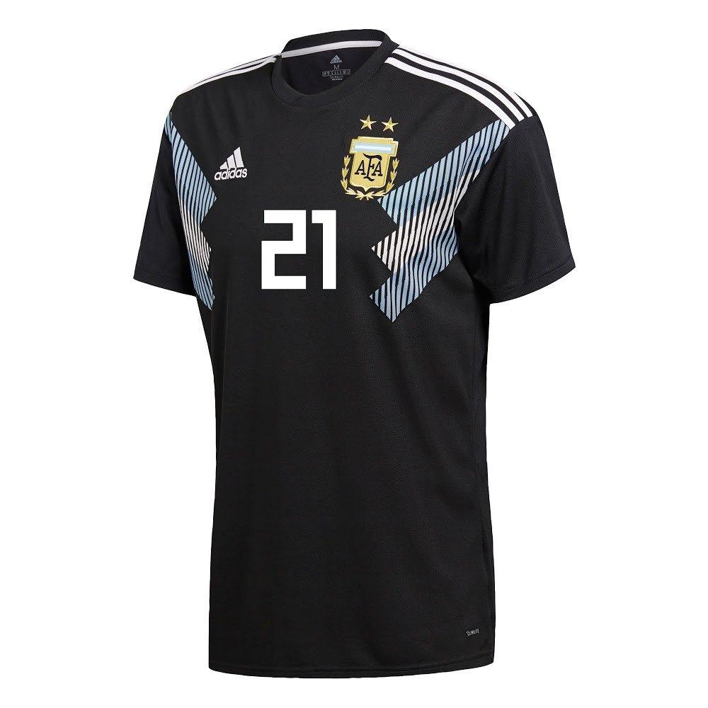 Adidas Argentina Away Dybala 21 Jersey 2018 / 2019 (公式印刷) B07D69PS23  Large