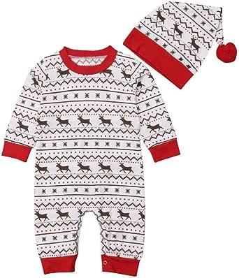 POLP niño Niñas Navidad Bebe Ropa Disfraz Reno Navidad Bebe ...