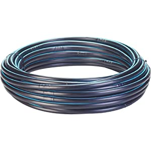 Toro 53618 Blue Stripe Drip 1/2-Inch Hose with Emitters, 100-Feet