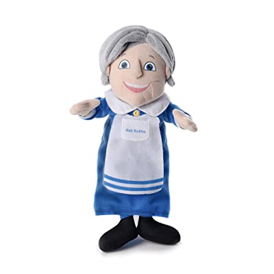 Mensch on a Bench Ask Bubbe – Talking Grandma Doll: Toys & Games