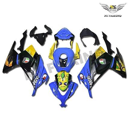 NT FAIRING Carenado para Kawasaki Ninja 2013-2017 EX300 300R ...