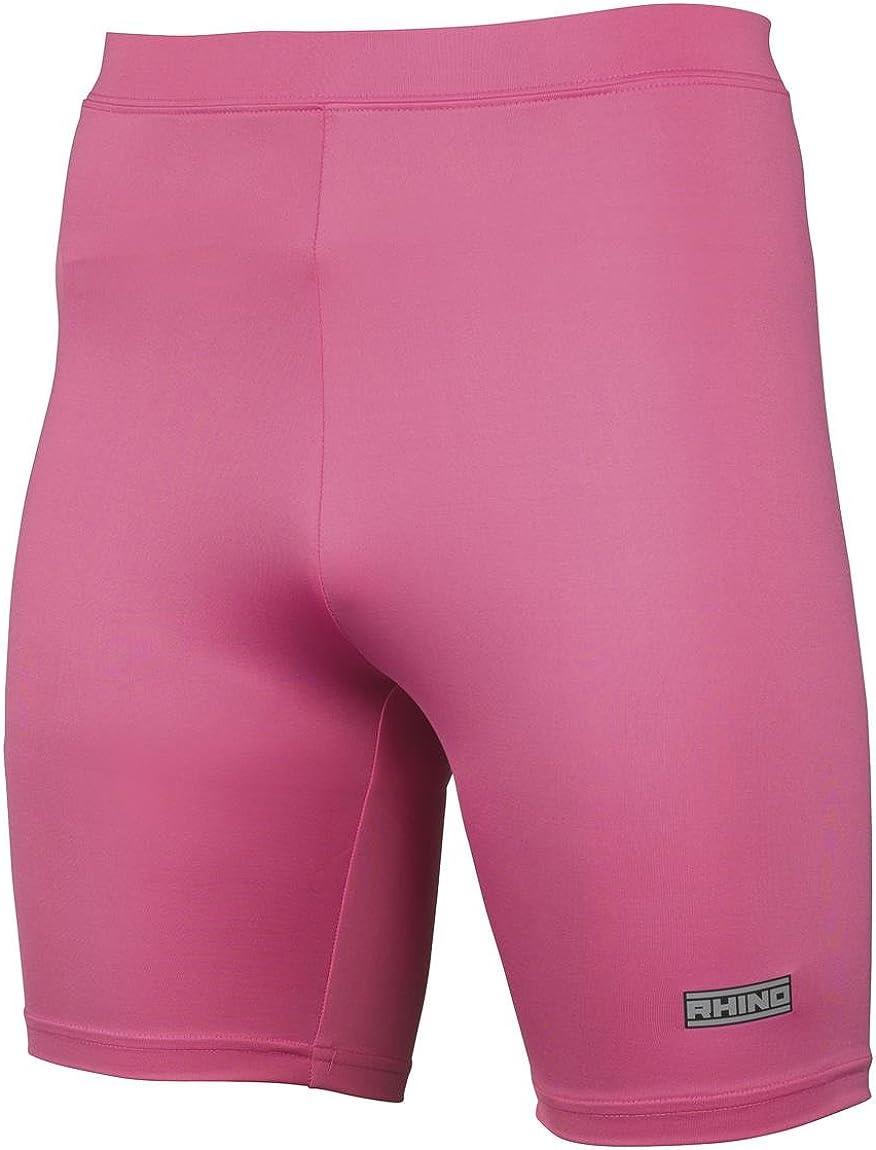 Rhino New Base Layer Shorts Juniors Warm Sports Compression Fit Cycling Short