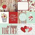 Simple Stories You & Me Elements #1 Valentine Scrapbook Paper