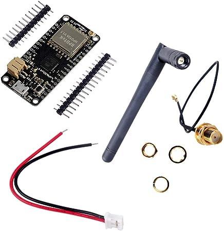 Lora32u4ii Lora Placa de desarrollo, conector JST-PH2.0MM-2P, antena IPEX, ATmega32u4 SX1276 HPD13A 915MHZ, para Arduino UNO Mega 2560 Nano