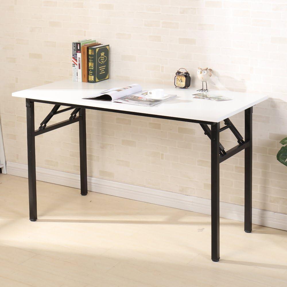 Need Folding Table 120x60cm Computer Desks Portable for Company//Office//Picnic//Garden//Beach//Camping Use AC5CW-Z