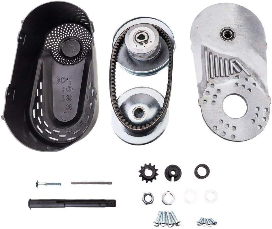 "Torque Converter Go Kart Clutch Set Compatible for 30 Series Manco Comet TAV2 3/4"" Bore 10T #40#41#420 Chain Mini Bike Engine Kit"