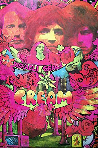 cream Classic Rock Star Band Poster