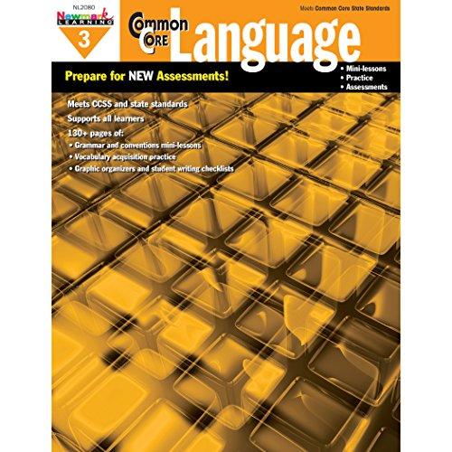 Newmark Learning Grade 3 Common Core Practice Language Book (CC Language)