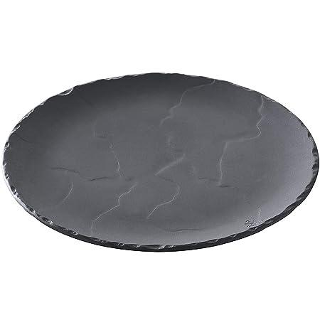 Revol 646193 BA1026 slate stone look pizza pan, 10.5 , Matt Style