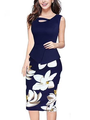 Babyonline Women's Elegant Chic Bodycon Formal Dress