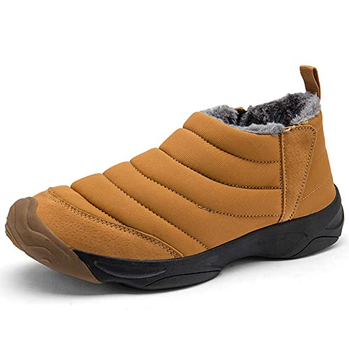 Unisex Zapatos Invierno Botas de Nieve Hombre Botines Antideslizante Caliente Cortas Fur Aire Libre Sneaker 36-45EU: Amazon.es: Zapatos y complementos