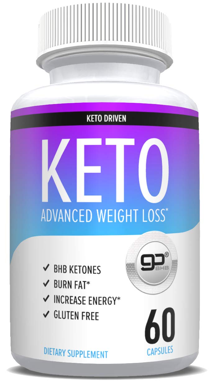 Shark Tank Keto Pills For Weight Loss - goBHB Formula - Weight Loss Supplements to Burn Fat Fast - Boost Energy and Metabolism - Best Ketosis Supplement for Women and Men - Nature Driven - 60 Capsules