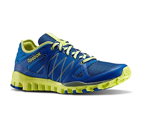 Reebok RealFlex Train RS Mens Running Shoe 9.5 Impact Blue-Green ... 8ffae25837