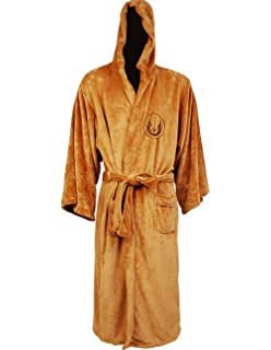 Star Wars Jedi Knight Bath Robe For Man Black Men's Clothing Costumes