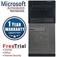 Dell 790 Business High Performance Tower Desktop Computer PC (Intel Core i3 2100 3.1GHz,8G RAM DDR3,1TB HDD,DVD-ROM,Windows 10 Professional)(Certified Refurbished)