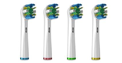 T Smile:) Floss Action Generic cabezales para cepillo de dientes eléctrico cabezales de recambio
