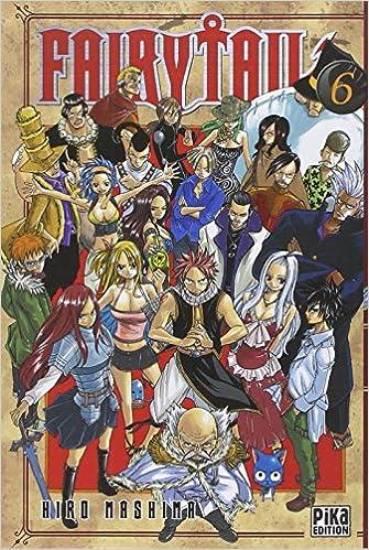 Fairy Tail Tome 6 Amazon Co Uk Hiro Mashima Vincent