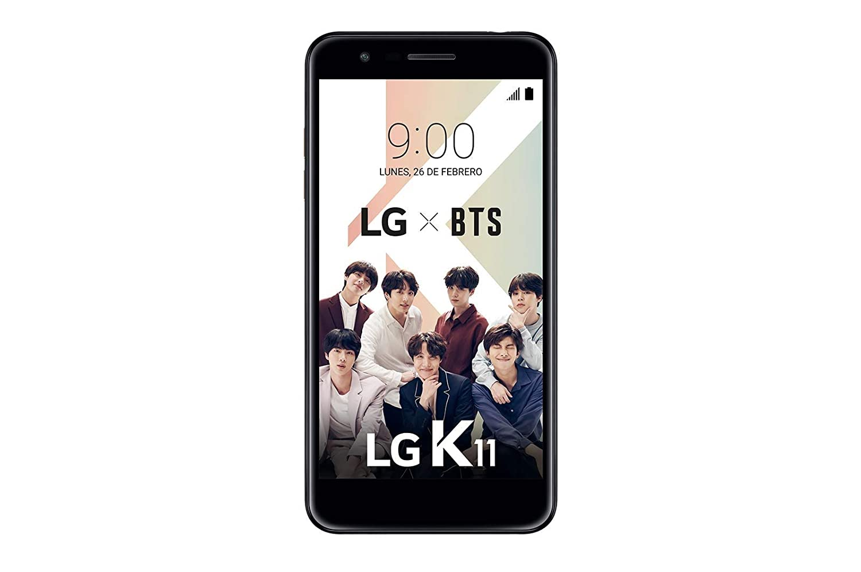 "LG K11 - Smartphone de 5.3"" (Mediatek MT6750 Quad Core 1.5 Ghz, 16 GB de memoria, 2 GB RAM, cámara Pro 13 MP), color azul"