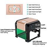 Crafts man 3000mW Mini Laser Engraving Machine