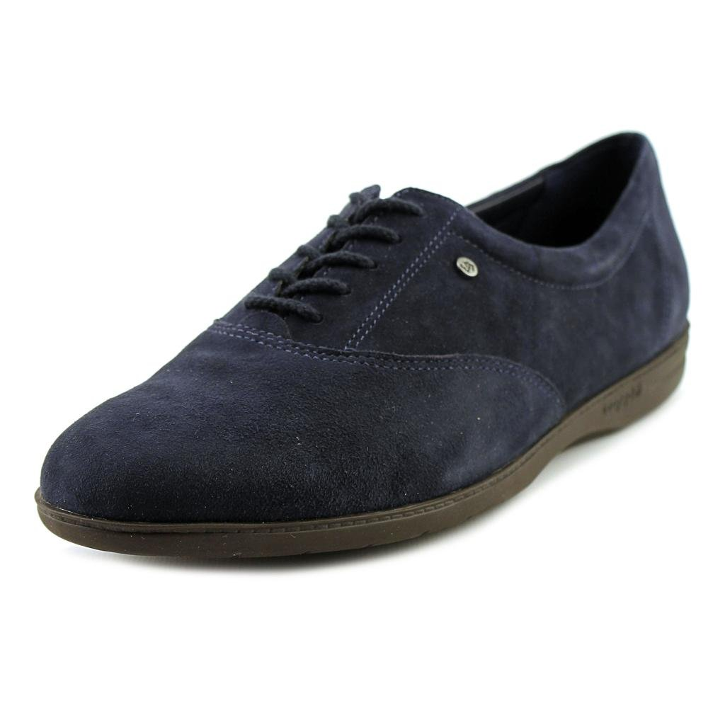 Navy-suede Easy Spirit Women's Motion Sport Lace-Up Sneaker