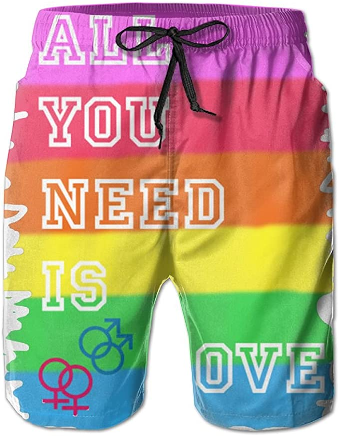 UHT28DG Beautiful Corals Pattern Mens Board//Beach Shorts Lightweight Beachwear