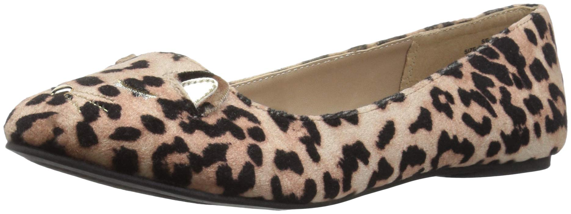 The Children's Place Girls' Ballet Flat, Leopard, Youth 11 Child US Little Kid