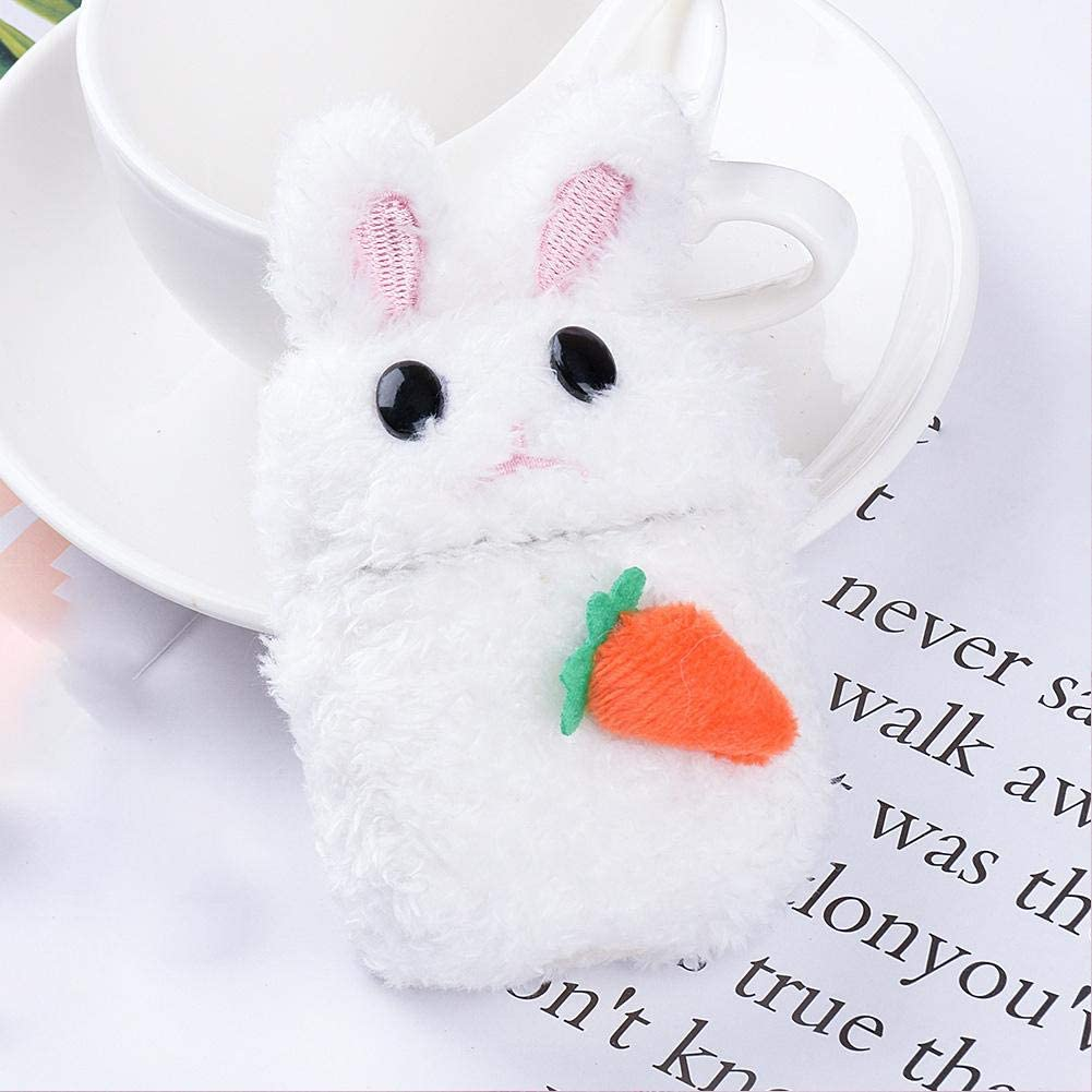 Cartoon Plush Puppy Case TPU Silica Gel Material//One-Button Activation Link Wireless Headset Earphone Cover