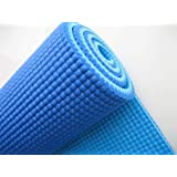 Narains Packaging Textured Pattern Soft Comfort Fitness Exercise Anti Skid, Non Slip Yoga Thick Mat for Men & Women with Bag