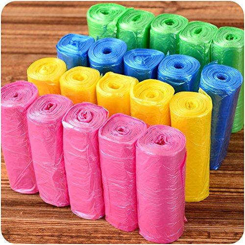 Generic rosa: 150 pcs/lot buen Qulity bolsas de basura de ...