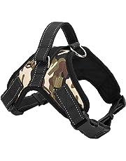 succeedtop Pet Dog Chest Straps TAILUP Pet Dog Leads Chest Straps Large Pet Adjustable Comfortable Outdoor Soft Breathable Dog Pet Vest