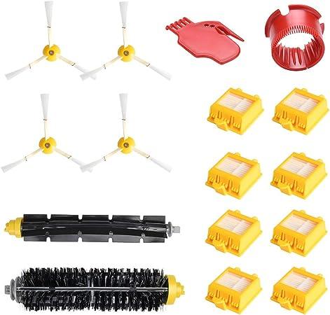 Kit Pi/èces Accessoires Rechange Pour iRobot Roomba 700 760 770 772 774 775 776 780 782 785 786 790 Brosses Filtres de Remplacement