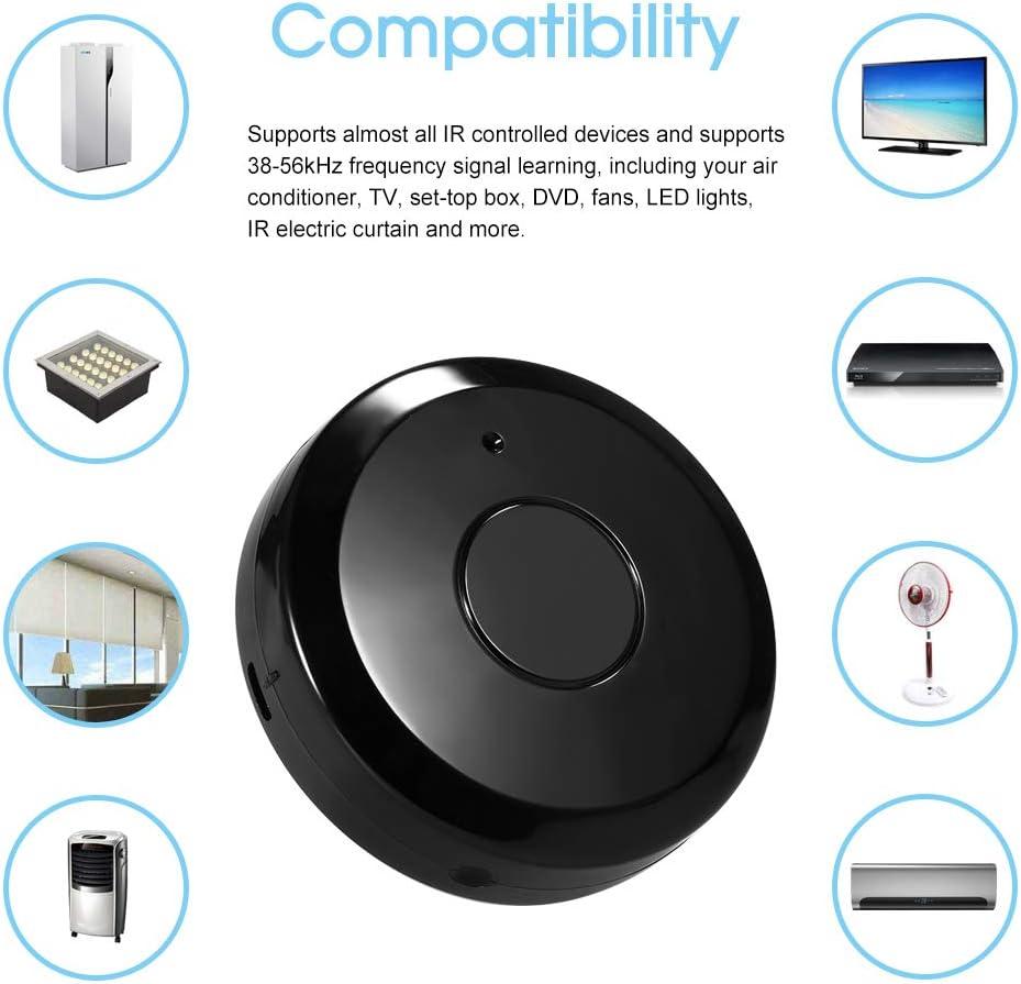 Telecomando universale a Infrarossi per Climatizzatore TV Uso di Tuya Smart Life APP Compatibile con Alexa Google Home Voice Control OWSOO Telecomando WiFi IR intelligente
